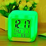 DESTINLEE Alarm Clock - Extra Large LCD Screen