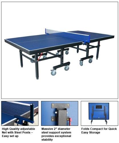 Hankoプレミアムpro-grade Table Tennis Ping Pong Table B00EZ8P8QY