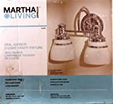 Martha Stewart Living 2-light Seal Harbor Collection Vanity Light Fixture