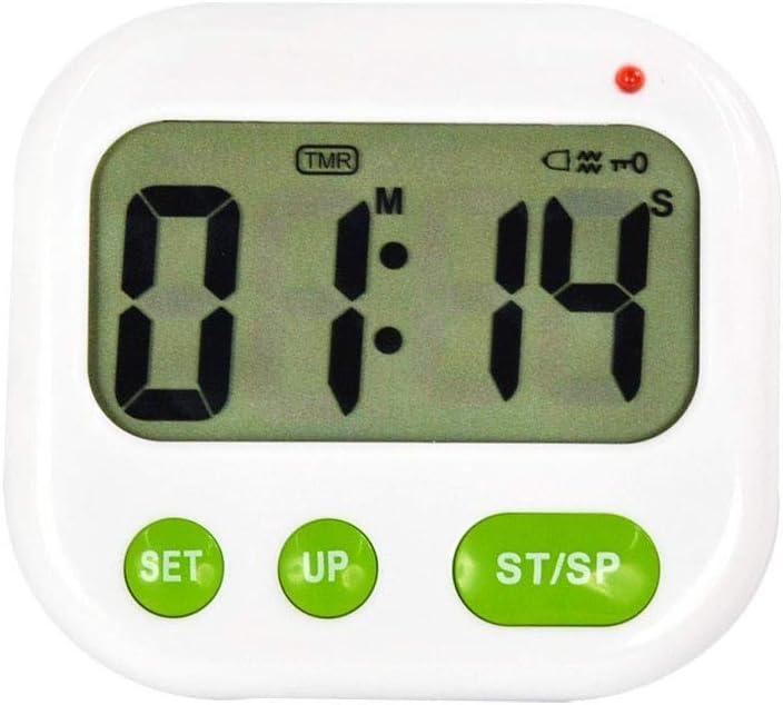 IENPAJNEPQN Minuterie silencieuse Vibration R/éveil Compte /à rebours Muet Lumineux /étudiant Horloge Timing Vibration Rappel Dortoir