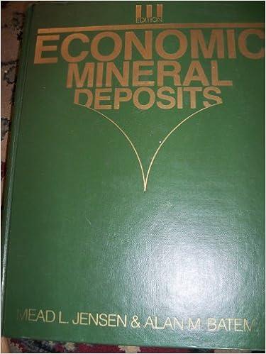 Economic Mineral Deposits