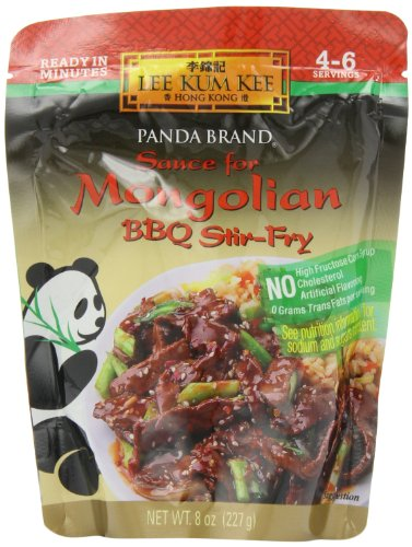 Marinade Fry Stir (Panda Sauce For Mongolian Beef,BBQ Stir Fry, 8-Ounce (Pack of 6))