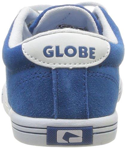 Globe Lighthouse Slim Kids - Zapatillas de Deportes de Exterior de cuero nobuck niño azul - Bleu (19289)