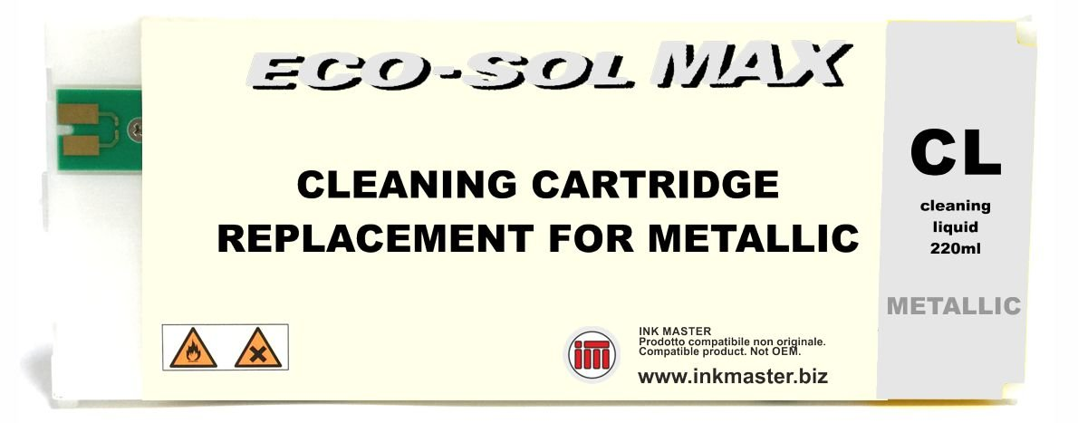 INK MASTER Cartuccia compatibile ROLAND ECO-SOL MAX 2 CLEANING METAL per ROLAND ECOSOLVENT