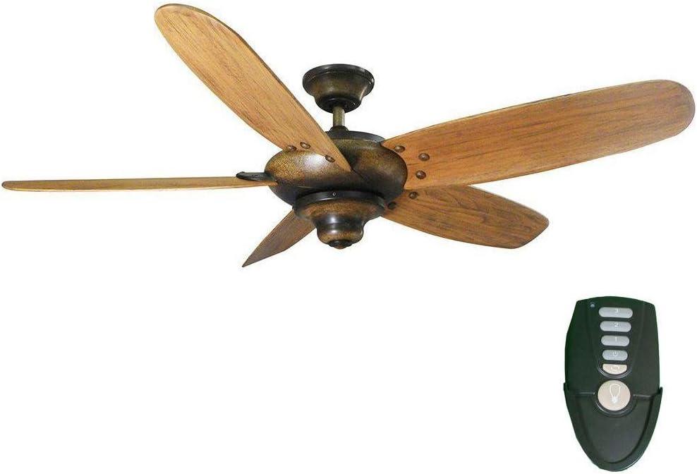 Home Decorators Collection Altura 56 In. Gilded Espresso Ceiling Fan