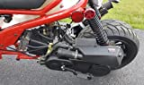 50cc Rat Rod Bike Scooter Moped Bicycle w/ Large