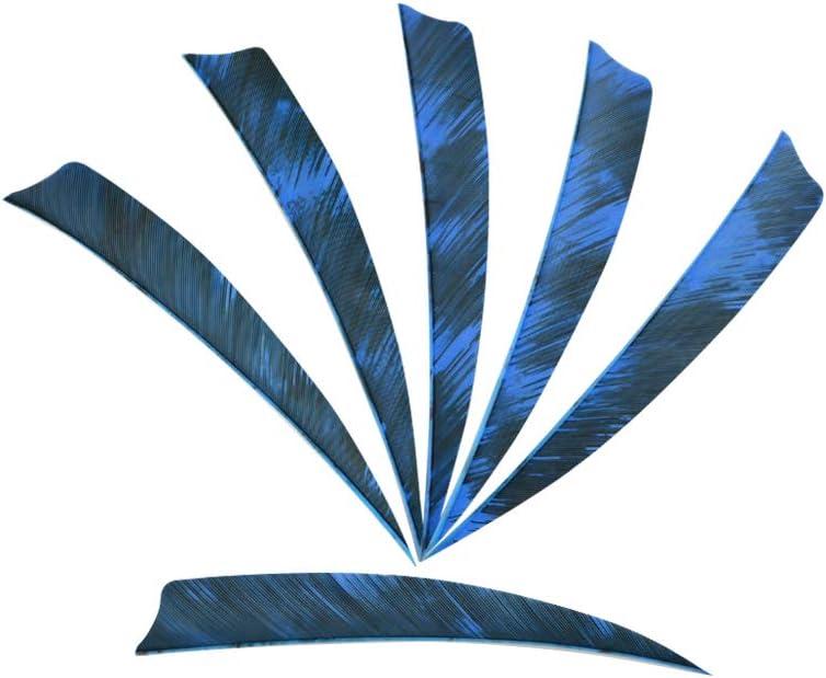 "30pcs 4/"" Archery Arrow Natual Fletching Turkey Feathers Fletches Chinese Style"