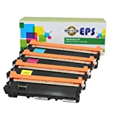 EPS Replacement Brother TN210 Toner Cartridges Color Set (B, C, M, Y), Office Central