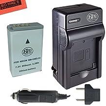 EN-EL24 Battery and Charger for Nikon 1 J5, DL18-50, DL24-85 Digital Camera