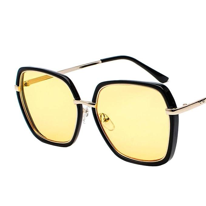SenDi Gafas de sol-Gafas de sol de metal para hombres y ...