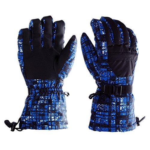 Ski Gloves Winter Outdoord Snow Sports Gloves Warm Waterp...