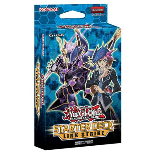 Yugioh Link Strike 2017 Starter Deck 1st Edition English - 43 cards (Best New Yugioh Decks)
