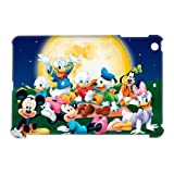 ePcase 3D-printed Hard Case Cover for iPad Mini - Comic Cartoons Mickey Mouse and Donald Duck