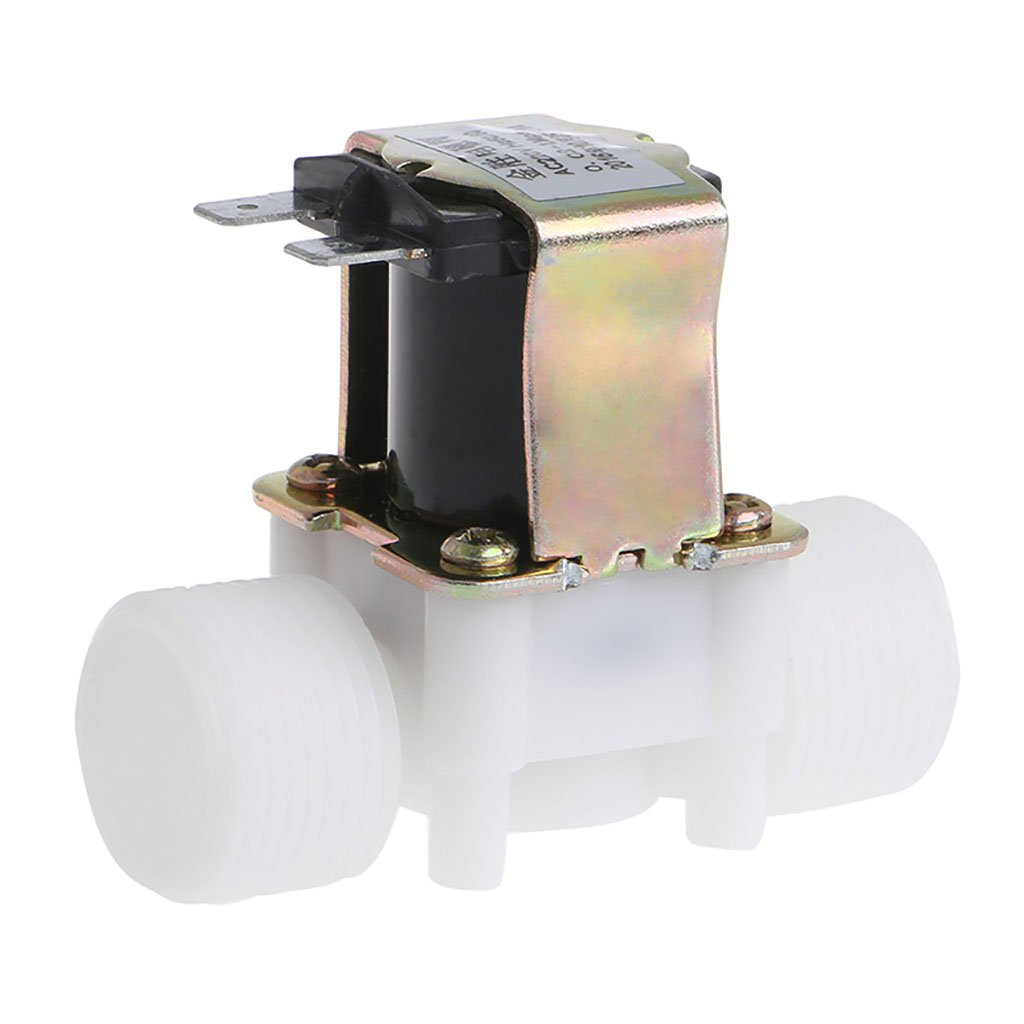 Kangnice 3/10, 2 cm AC 220 V PP N/C elettrovalvola acqua controllo deviatore device 2cm AC 220V PP N/C elettrovalvola acqua controllo deviatore device