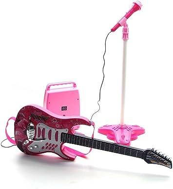 Rock Guitarra con Cuerdas de Acero, Amplificadores, Soporte ...