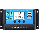 Andoer Universal Solar Panel Controller Battery Charge Regulator Auto With Dual USB for DIY Solar Power