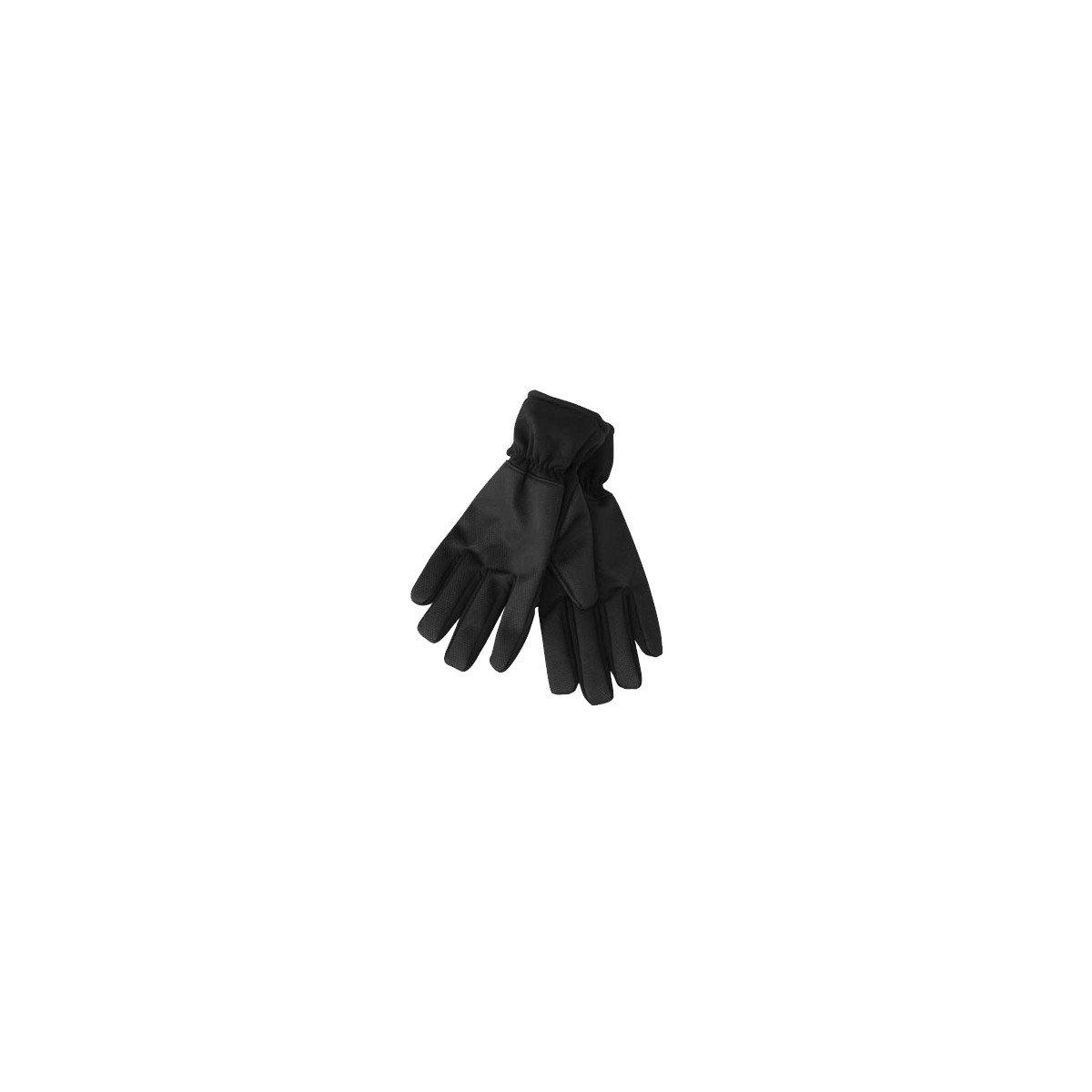 NJ Men's Running Gloves 7 Black by NJ (Image #1)