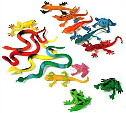 Reptiles – Serpentinas, ranas, gekkos y más: Amazon.es: Juguetes y juegos