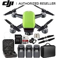 DJI Spark Portable Mini Drone Quadcopter Ultimate Portable Bag Shoulder Travel Case Bundle (Meadow Green)