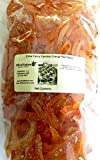 Candied Orange Peel Slices by OliveNation - Granulated Orange Peel - Size of 2 lbs (32 oz)