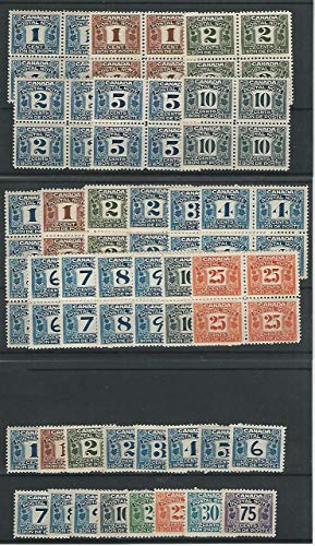 Canada, Postage Stamp, Postal Note Stamps Mint NH Blocks, JFZ