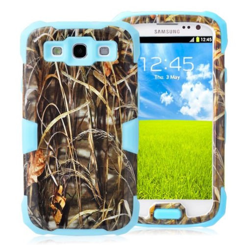 General Shop Glow in the Dark Camo Mossy OAK Tree Case Cover for Samsung Galaxy S3 III I9300 - The Shop Oaks