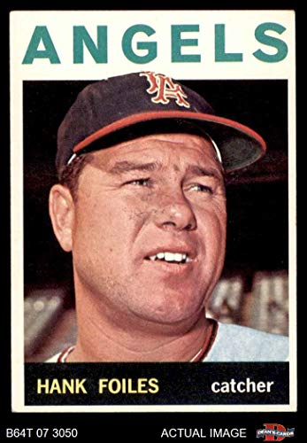 (1964 Topps # 554 Hank Foiles Los Angeles Angels (Baseball Card) Dean's Cards 4 - VG/EX Angels)