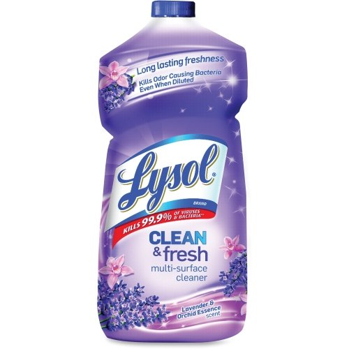 LYSOL 78631 Clean & Fresh Multi-Surface Cleaner, Lavender and Orchid Essence, 40 oz. Bottle ()