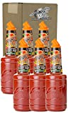 Finest Call Premium Loaded Bloody Mary Drink Mix, 1 Liter Bottle (33.8 Fl Oz), Pack of 6