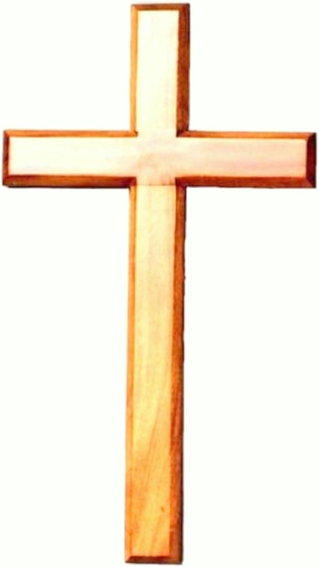 Biblegifts Croix en Bois /à Suspendre ou /à Suspendre 20 cm