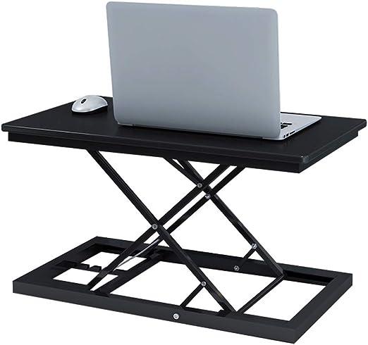SxsZQ La mesa para laptop de pie, puede levantarla, se puede mover ...