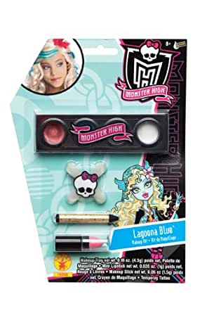 amazoncom monster high makeup kit lagoona blue toys