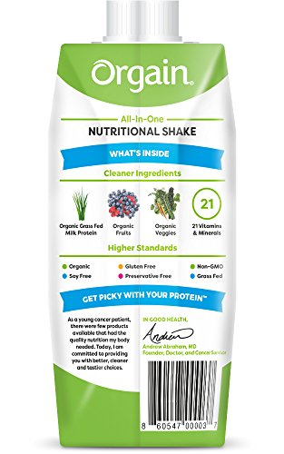 Orgain-Organic-Nutrition-Shake-Creamy-Chocolate-Fudge-11-Ounce-12-Count-Non-GMO-Kosher-Gluten-Free