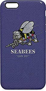 Skinit Seabees Can Do iPhone 6/6s Plus Pro Case - Officially Licensed US Navy Phone Case Pro, Scratch Resistant iPhone 6/6s Plus Cover by Skinit