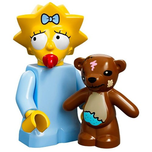 Lego Minifiguras serie 71005 - MAGGIE Simpsonhttps://amzn.to/2EJjLXu