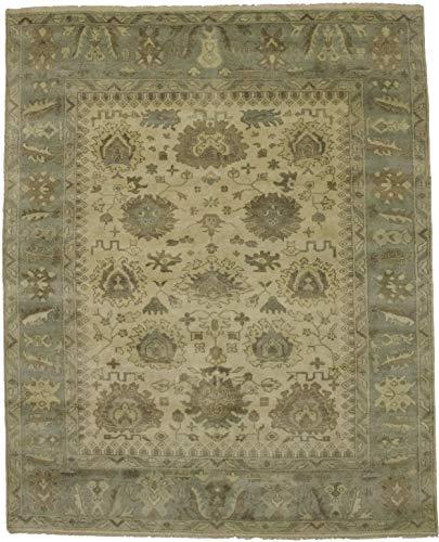 Admin Rugs Decorative Hand Knotted Vintage Floral Oushak Chobi Indian Area Rug Oriental Soft Plush Carpet ()