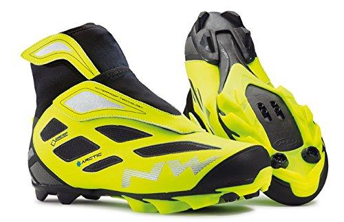 Northwave Celsius Arctic 2 GTX MTB Winter Fahrrad Schuhe gelb/schwarz 2016: Größe: 44