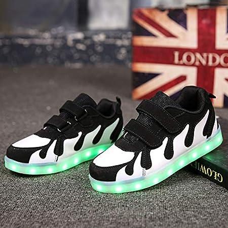 à Chaussures Lumineuse Basket pour Mode LED Chaussures 4j3qAR5L