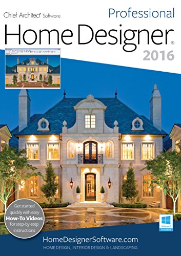 Home Designer Pro 2016 [PC] by Chief Architect