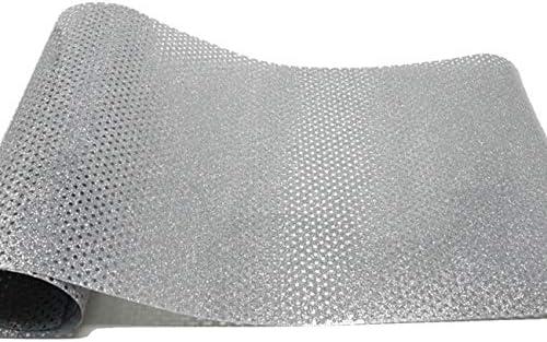 Vinilo textil glitter microperforado VINTEX (Plata): Amazon.es: Oficina y papelería