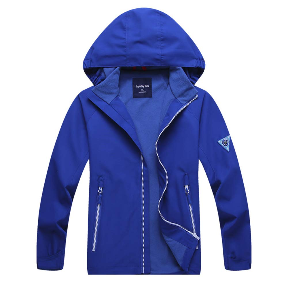 211698d6f Amazon.com  Boys Rain Jacket - Lightweight Waterproof Jacket for ...