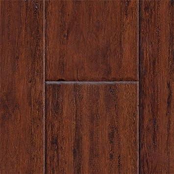 Amazon Hand Scraped Cognac Eucalyptus Home Kitchen