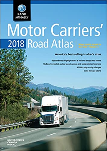 Rand McNally 2018 Motor Carriers' Road Atlas United States, Canada