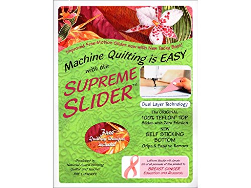 Price comparison product image LaPierre Studio LPSFMSS Free Motion Supreme Slider Quilting Notions