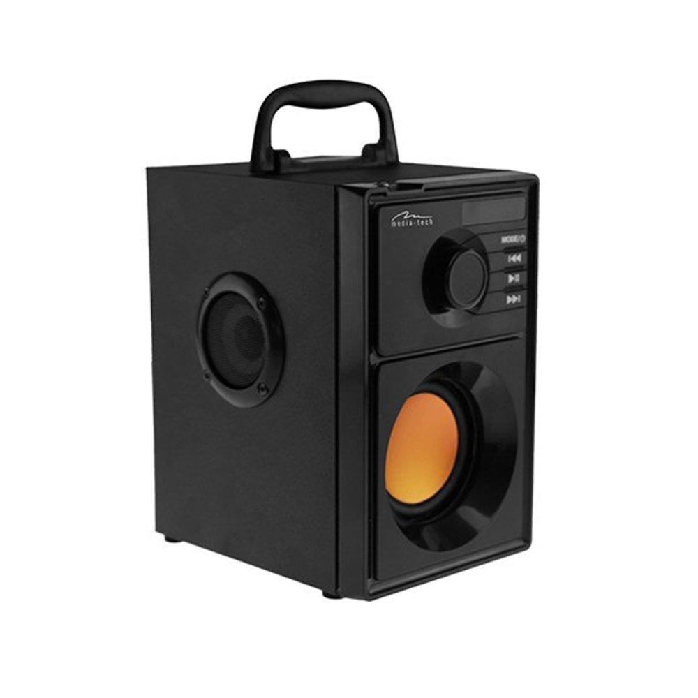Media-Tech Boombox BT Stereo 15 W Rechteck schwarz: Amazon.de ...