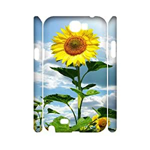 C-EUR Sunflower Phone Case For Samsung Galaxy Note 2 N7100