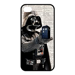 Doctor Who Tardis Police Box Iphone 4 Case TPU Doctor Who Iphone 4S Cover HD Image Snap ON