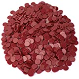 1000-pack of Solid Opaque 3/4-inch Bingo Chips, Great for Classroom Counting and Math Activities by Royal Bingo Supplies