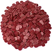 Royal Bingo Supplies 1000-pack of Solid Opaque 3/4-inch Bingo Chips, Great for Classroom Counting and Math Act
