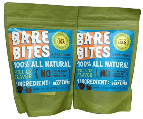 bare-bites-100-all-natural-dried-beef-liver-dog-and-cat-treats-6oz-pack-of-2